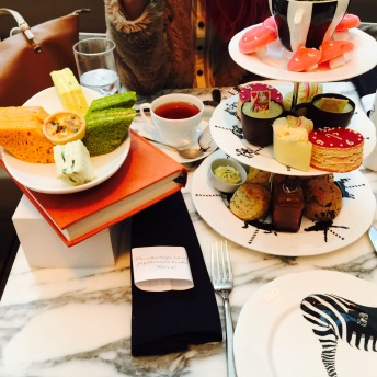 afternoon tea at sanderson hotel london
