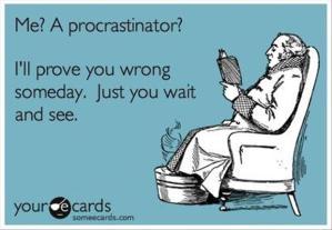 funny procrastination