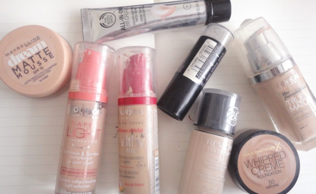 drugstore foundation collection