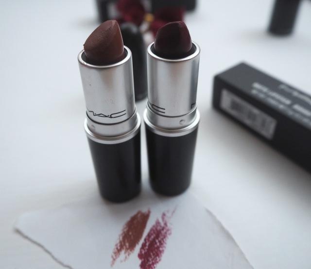 Mac lipstick taupe, mac diva